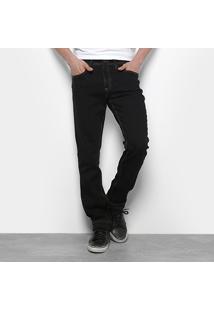 Calça Jeans Slim Calvin Klein Contraste Pesponto Masculina - Masculino