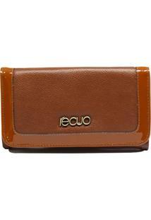 Carteira Recuo Fashion Bag Caramelo - Tricae