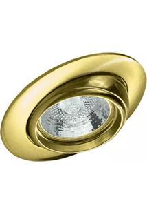 Spot De Embutir Mini Olho De Boi Dourado 50W 127V 148040007 Startec & Co