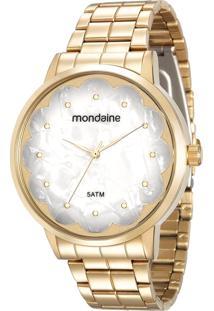 4d5638efdc9 Relógio Digital Couro Mondaine feminino