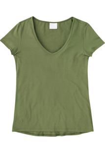 Blusa Verde Musgo Tradicional Mullet Lisa Enfim