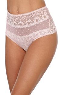 Calcinha Calvin Klein Underwear Hot Pant Renda Rosa