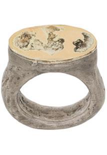 Parts Of Four Anel Roman - Metálico