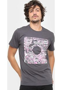 Camiseta Volcom Slim Record Masculina - Masculino