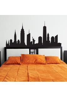 Adesivo Parede Quartinhos Quarto Cidade New York