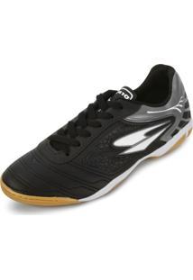 Tênis Futsal Dray Dr18-365Co Preto/Chumbo