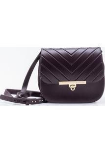 Bolsa Shoulder Bag Bordeaux - P