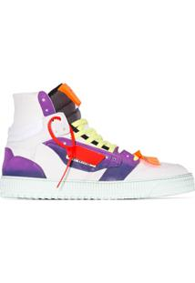 Off-White Off-Court High-Top Sneakers - Branco