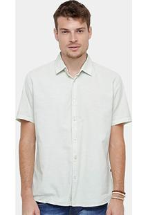 Camisa Forum Bordado Masculina - Masculino