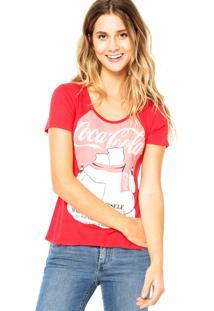 8ff15e976 R$ 54,99. Dafiti Blusa Jeans Feminina Coca Cola Vermelha ...