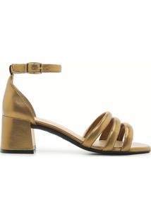 Sandália Bronze Iara | Alme