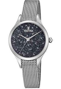 248e5435d2a Relógio Digital Aco Aluminio feminino