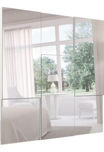 Espelho Decorativo Lucca (90X90) Off White