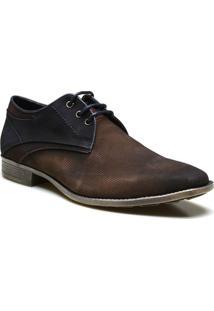 Sapato Casual Calvest Supertech Couro Camurça - Masculino
