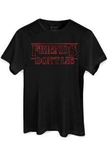 Camiseta Bandup! Bandup Friends Don T Lie Masculina - Masculino-Preto