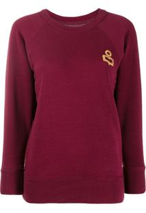 Isabel Marant Étoile Romer Sweatshirt - Vermelho