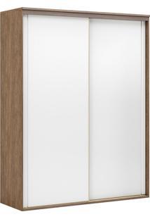 Guarda-Roupa Solteiro 2,07Cm 2 Portas Inovatto Fosco-Belmax - Ebano / Branco