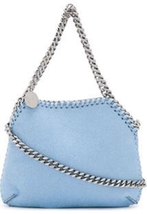 Stella Mccartney Bolsa Tiracolo Falabella Mini - Azul