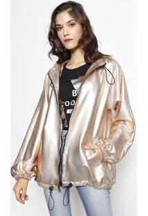 Jaqueta Metalizada- Dourada- Lebôhlebôh