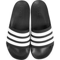 30e71562355 Chinelo Slide Adidas Adilette Cloudfoam Masculino - Masculino-Preto+Branco