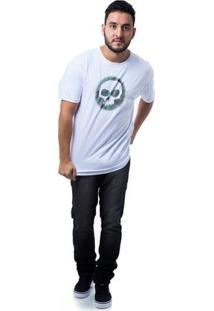Camiseta Zero Eclipse Masculina - Masculino-Branco