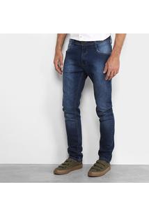 Calça Jeans Reta Dimy Hian Masculina - Masculino-Jeans