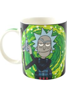 Caneca Magic Rick And Morty Geek10 Verde