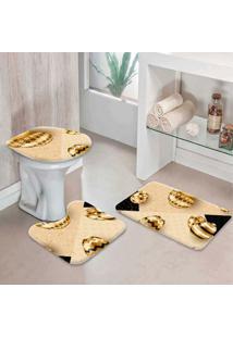 Jogo Tapetes Para Banheiro Páscoa Moderno