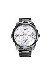 Relógio Masculino Oulm-Ht3749 Analógico - Preto E Branco