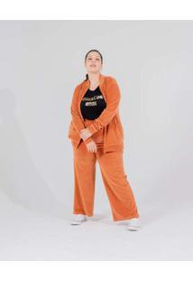 Calça Pantalona Almaria Plus Size Miss Taylor Bols
