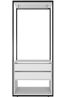 Guarda-Roupa Closet Modulado Manchester 2 Gv Branco