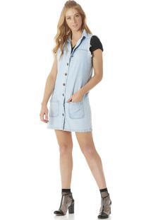 Colete Jeans Serinah Brand Azul