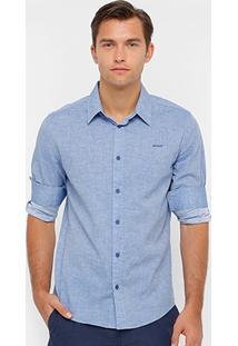 Camisa Sommer Tricoline Masculina - Masculino