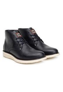 Bota Ankle Boot Classic Masculino Couro Conforto Casual Café 37 Preto