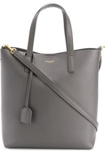 Saint Laurent Toy Shopping Tote - Cinza