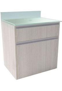 Gabinete De Banheiro Parati 43X60Cm Rovere Sereno Bonatto