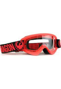 Óculos Tear Off Road Dragon Mdx Vrm. Lente Incolor