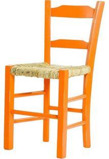 Cadeira Lagiana Pequena Eucalipto Laranja Palha - 31280 - Sun House