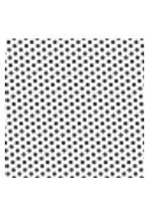 Papel De Parede Autocolante Rolo 0,58 X 3M - Preto E Branco 441