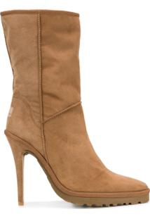 Y / Project Ankle Boot Ugg - Marrom