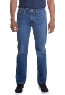 Calça Jeans Levi'S 514 Straight Masculina - Masculino-Azul