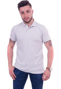 Camisa Polo Lupim Cinza (Cinza, Gg)