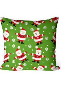 Capa De Almofada Love Decor Avulsa Decorativa Multi Papai Noel
