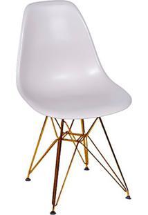 Cadeira Eames Eiffel Com Base Metal Fendi