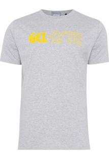 Camiseta Masculina Graphic - Cinza