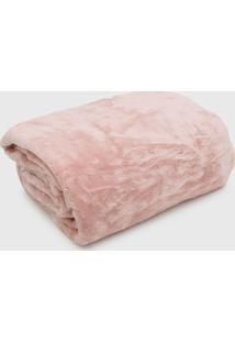 Cobertor Casal Kacyumara Blanket High Rose