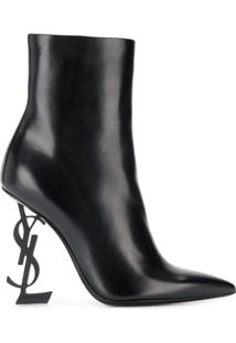 Saint Laurent Ankle Boot Opyum 105 - Preto