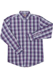 Camisa Wrangler Roxo