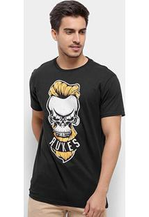 Camiseta Rukes Silk Angry Skull Masculina - Masculino
