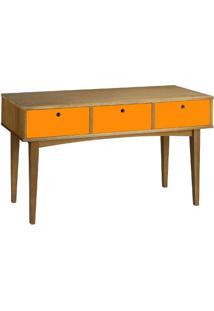 Aparador Vintage 0351-0-878 Maxima Nogal/Laranja